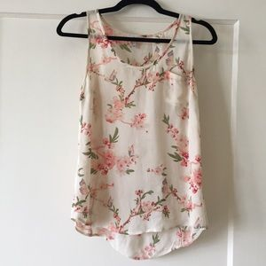 Joie silk top with pocket
